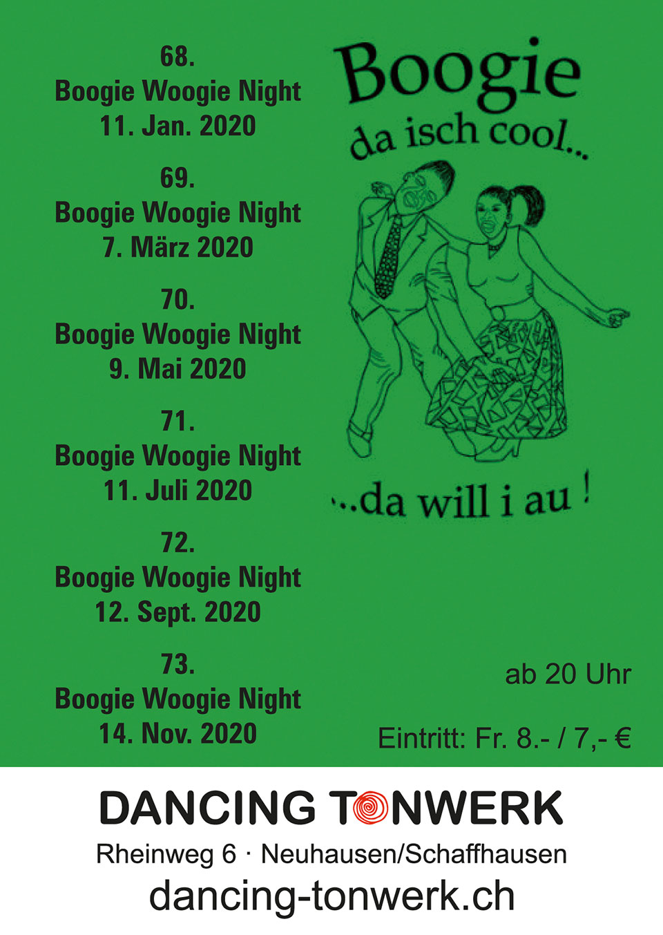 2019 boogie woogie night